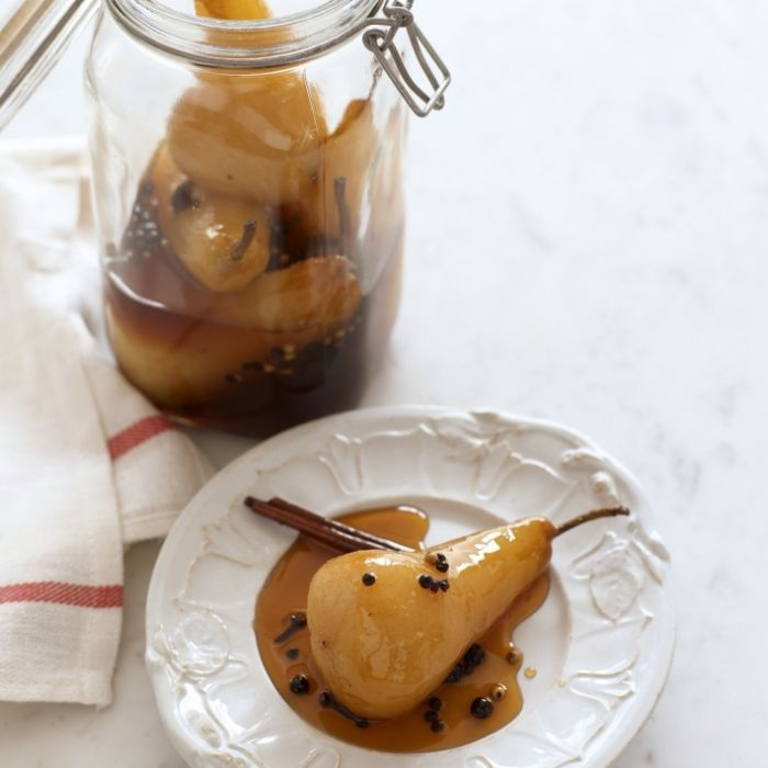spiced golden pear